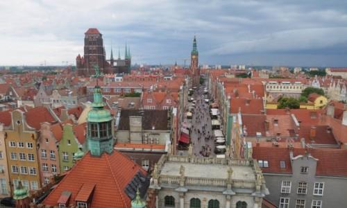 Zdjecie POLSKA / pomorskie / Gdańsk / panorama Gdańska z Wieży Więziennej