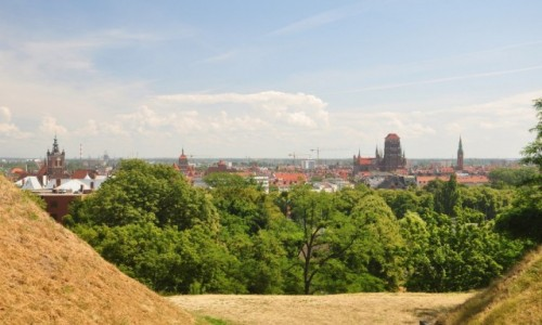 Zdjecie POLSKA / pomorskie / Gdańsk / panorama Gdańska z Góry Gradowej