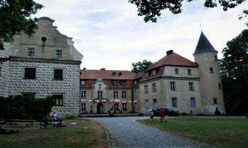 POLSKA /  zachodniopomorskie / Tuczno / Zamek Wedlów