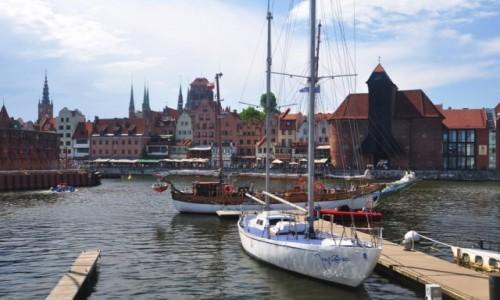 Zdjecie POLSKA / pomorskie / Gdańsk / Nad Motławą