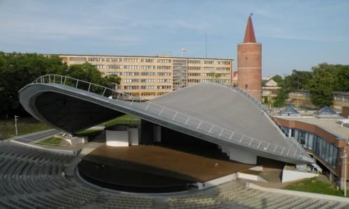 Zdjęcie POLSKA / opolski / Opole / Amfiteatr opolski bez tłumów