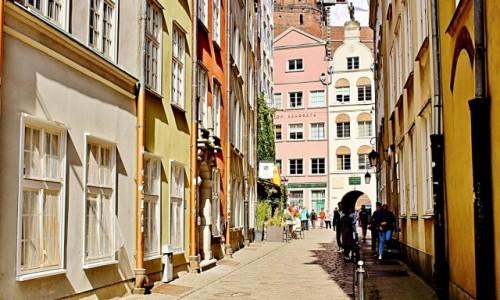 Zdjęcie POLSKA / województwo pomorskie / Gdańsk / Uliczka w Gdańsku