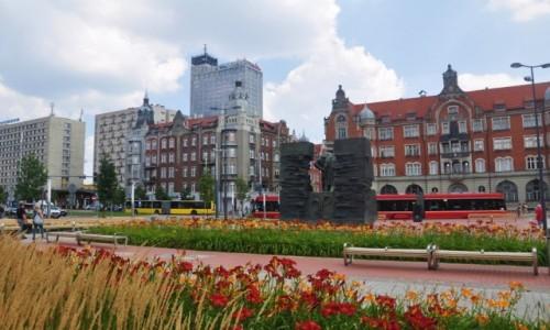 Zdjęcie POLSKA / śląskie / Katowice / kolorowe Katowice