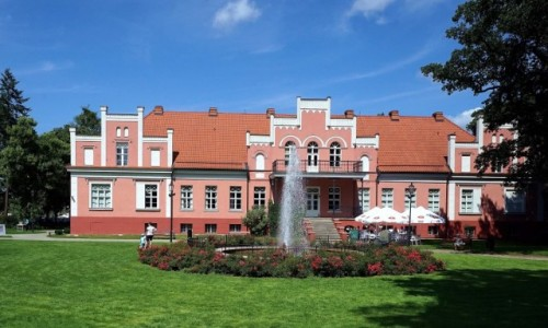 Zdjęcie POLSKA / Pomorze / Wejherowo / Pałac Przebendowskich