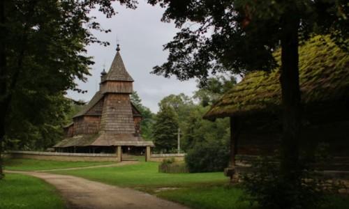 Zdjęcie POLSKA / Podkarpacie / Sanok / Skansen