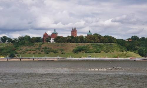 Zdjecie POLSKA / mazowieckie / Płock / Panorama Płocka z dzielnicy Radziwie
