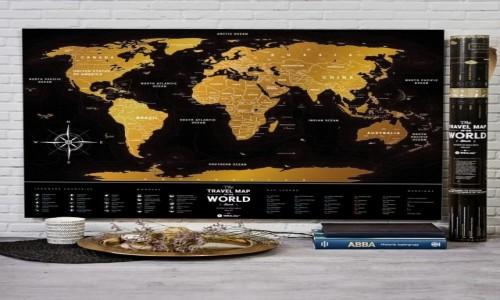 Zdjecie POLSKA / --- / --- / Prezenty dla podróżnika - mapa