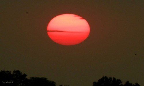 Zdjęcie POLSKA / Warminsko-Mazurskie. / Iława. / Wczorajszy zachód słońca z balkonu -3.