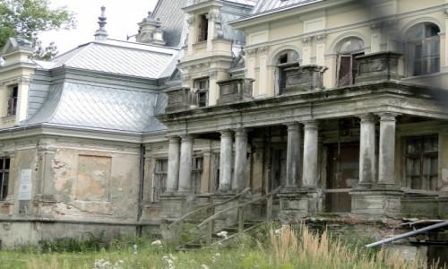 Zdjecie POLSKA / Mazowsze / Guzów / Pałac Sobańskich - przywracanie świetności.