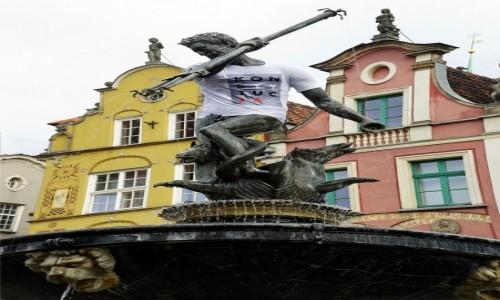 Zdjecie POLSKA / Gdańsk / Fontanna Neptuna / ...