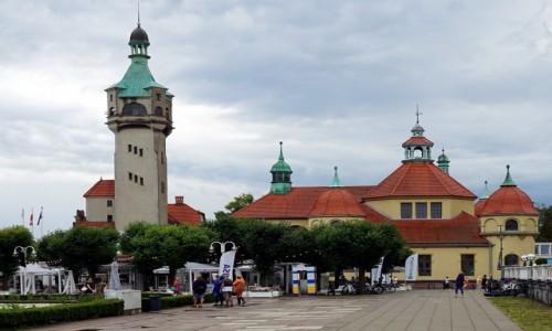 POLSKA / Pomorze / Sopot / Zakład Balneologiczny