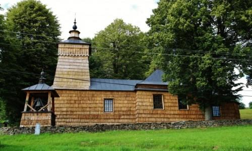 Zdjecie POLSKA / Beskid Sądecki / Leluchów / Cerkiew św. Dymitra