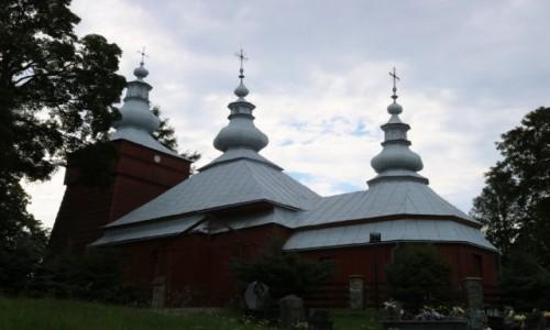 Zdjecie POLSKA / Beskid Sądecki / Mochnaczka Niżna / Cerkiew św. Michała Archanioła