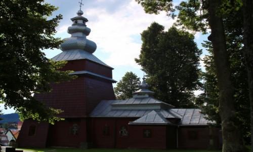Zdjecie POLSKA / Beskid Sądecki / Tylicz / Cerkiew św. Kosmy i Damiana