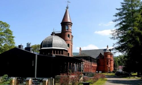 Zdjęcie POLSKA / dolnoślaskie / Sokołowsko / Sanatorium w częściowej odbudowie.