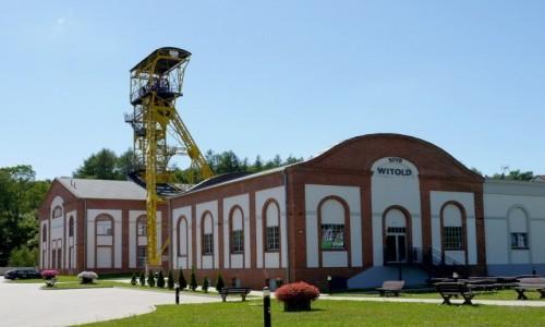 Zdjęcie POLSKA / dolnoślaskie / Boguszów Gorce / Szyb wyciągowy dawnej kopalni Witold