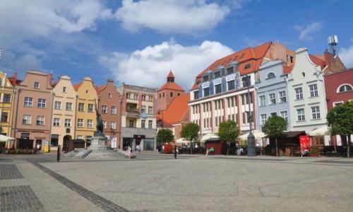 POLSKA / kujawsko-pomorskie / Grudziądz / Rynek w Grudziądzu, serce miasta