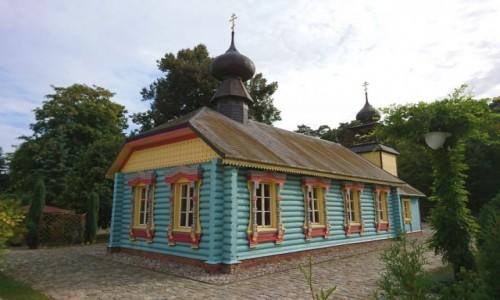 POLSKA / kujawsko-pomorskie / Ciechocinek / Cerkiew z 1894 roku w Ciechocinku