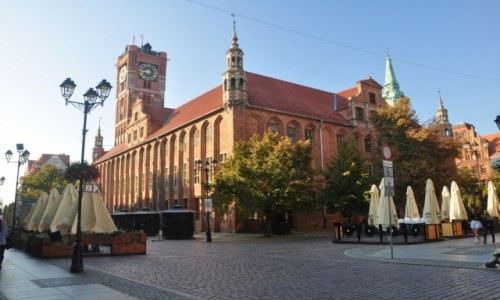 Zdjecie POLSKA / kujawsko-pomorskie / Toruń / Poranny spacer po toruńskim rynku