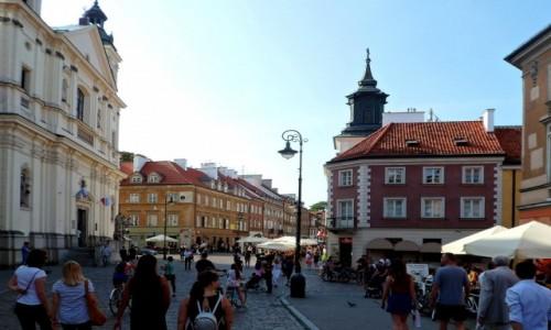 Zdjęcie POLSKA / mazowieckie / Warszawa / Uliczka