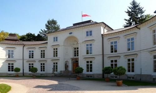 Zdjęcie POLSKA / mazowieckie / Warszawa Łazienki / Pałac Myślewicki