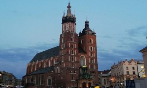 Zdjecie POLSKA / Kraków. / Kraków. / Kraków - Bazylika Mariacka.