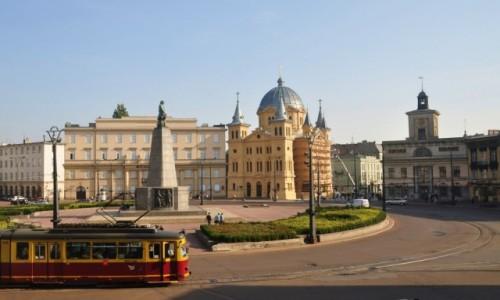 Zdjecie POLSKA / łódzkie / Łódź / Architektura placu Wolności w Łodzi
