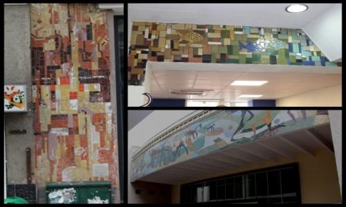 POLSKA / Zachodniopomorskie / Szczecin / Mozaiki