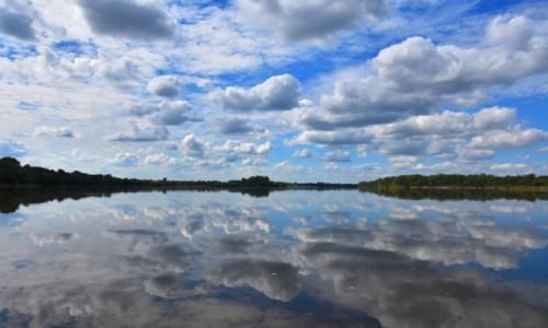 Zdjęcie POLSKA / woj. mazowieckie / okolice Modlina / No może to nie Amazonka ale ładna rzeka