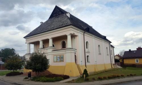 Zdjecie POLSKA / Lubelszczyzna / Modliborzyce / Synagoga o wyjątkowej bryle