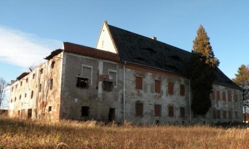 Zdjęcie POLSKA / opolskie / Siestrzechowice / Inne ujęcie pałacu