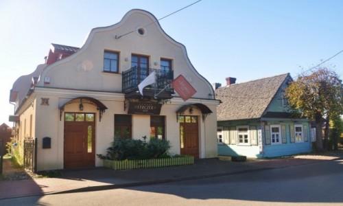 Zdjecie POLSKA / podlaskie / Białowieża / Architektura Białowieży