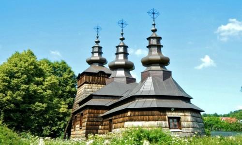 POLSKA / Gmina Muszyna. / Szczawnik. / Szlak Architektury Drewnianej w Małopolsce.