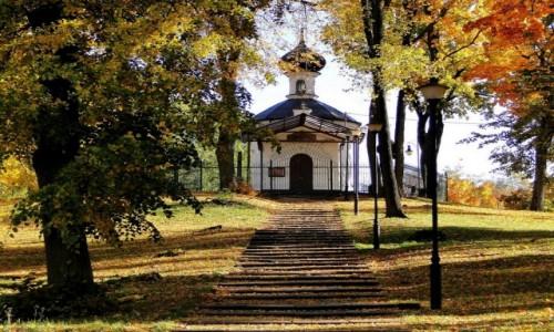 POLSKA / Podlasie / Białystok / Jesień na Wzgórzu św. Marii Magdaleny.