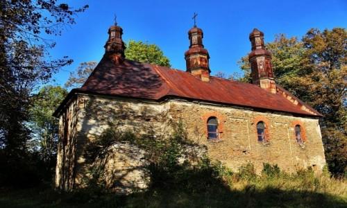 Zdjecie POLSKA / Beskid Niski / Królik Wołoski / Cerkiew w Króliku