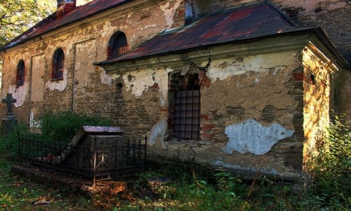 Zdjecie POLSKA / Beskid Niski / Królik Wołoski / Wyścig z czasem