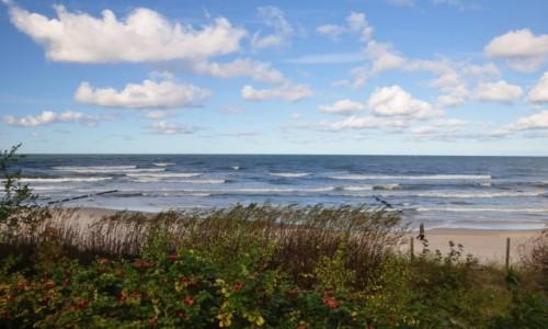 Zdjęcie POLSKA / pomorskie / Ustka / Morze Bałtyckie w Ustce