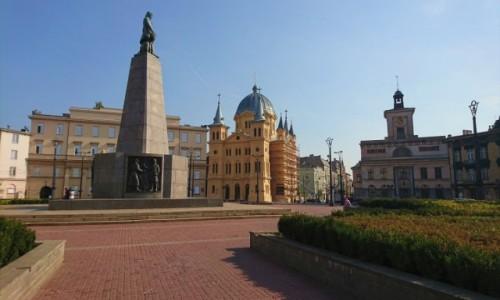 Zdjęcie POLSKA / łódzkie / Łódź / Plac Wolności w Łodzi