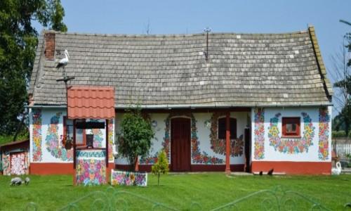 POLSKA / Małopolska / Zalipie / Krzywa Ale Kolorowa