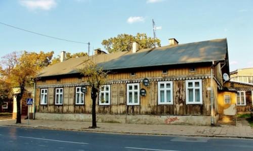Zdjęcie POLSKA / województwo łódzkie / Ozorków / Dom z przełomu XIX i XX wieku