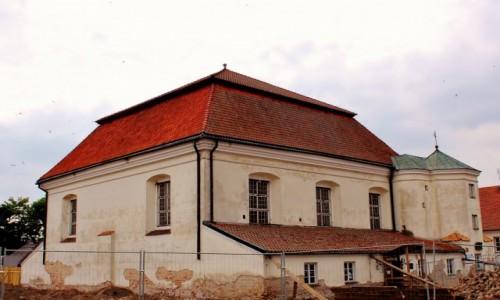 Zdjecie POLSKA / województwo podlaskie / Tykocin / Tykocińska synagoga w 2017 roku