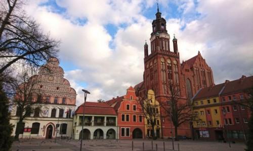 Zdjecie POLSKA / zachodniopomorskie / Stargard / Rynek staromiejski w Stargardzie