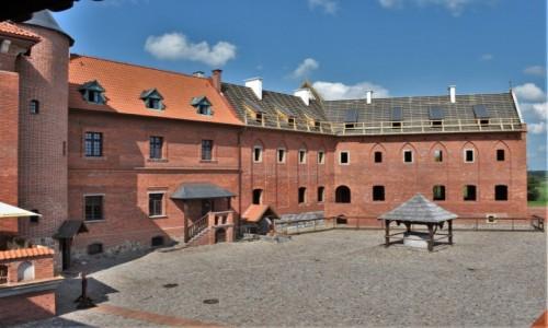 Zdjęcie POLSKA / Białostockie / Tykocin / Tykocin, odbudowany zamek