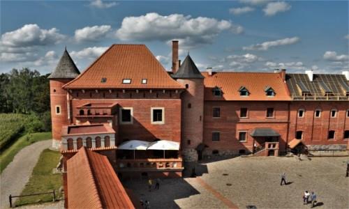 Zdjęcie POLSKA / Podlaskie / Tykocin / Tykocin, odbudowany zamek