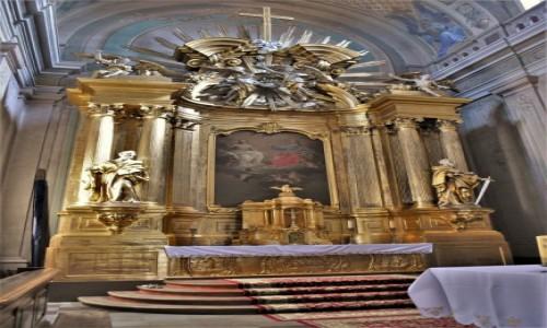 Zdjęcie POLSKA / Podlaskie / Tykocin / Tykocin filmowy, kościół Świętej Trójcy
