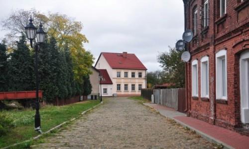 Zdjęcie POLSKA / zachodniopomorskie / Nowe Warpno / Przedwojenna droga, Nowe Warpno