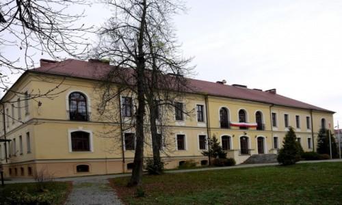 Zdjecie POLSKA / opolskie / Lewin Brzeski / Pałac, widok od strony parku