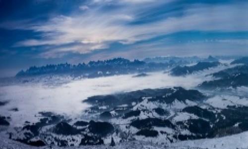 POLSKA / - / Babia Góra / Widok na Tatry z Babiej Góry