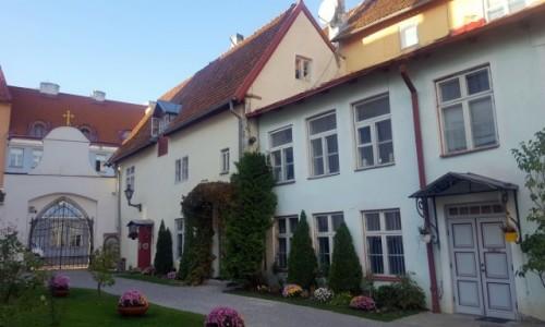 Zdjecie ESTONIA / Harjumaa / Tallinn / W zaułkach starego miasta