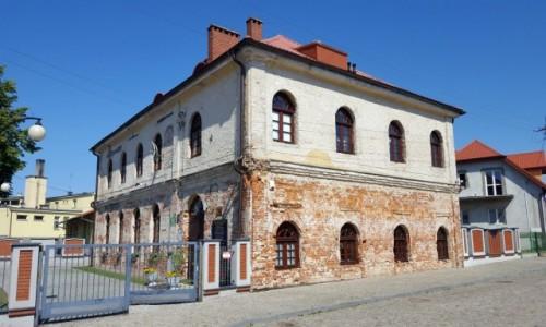 Zdjęcie POLSKA / Podlaskie / Ciechanowiec / Synagoga była kiedyś dawniej